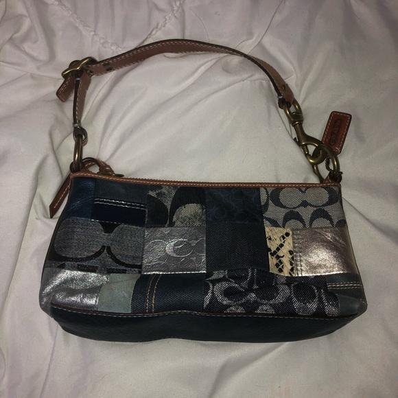 Coach Handbags - Vintage Coach Mini Handbag w/ Matching Coin Purse